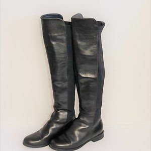 Aldo Over the Knee Black Boots, Size 6.5
